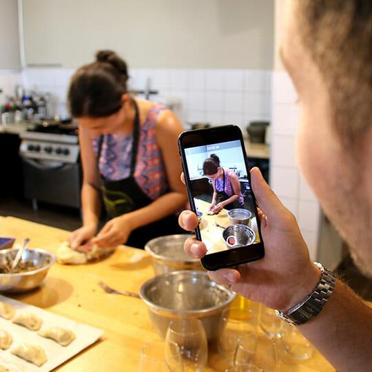 סדנת בישול אירוע פרטי