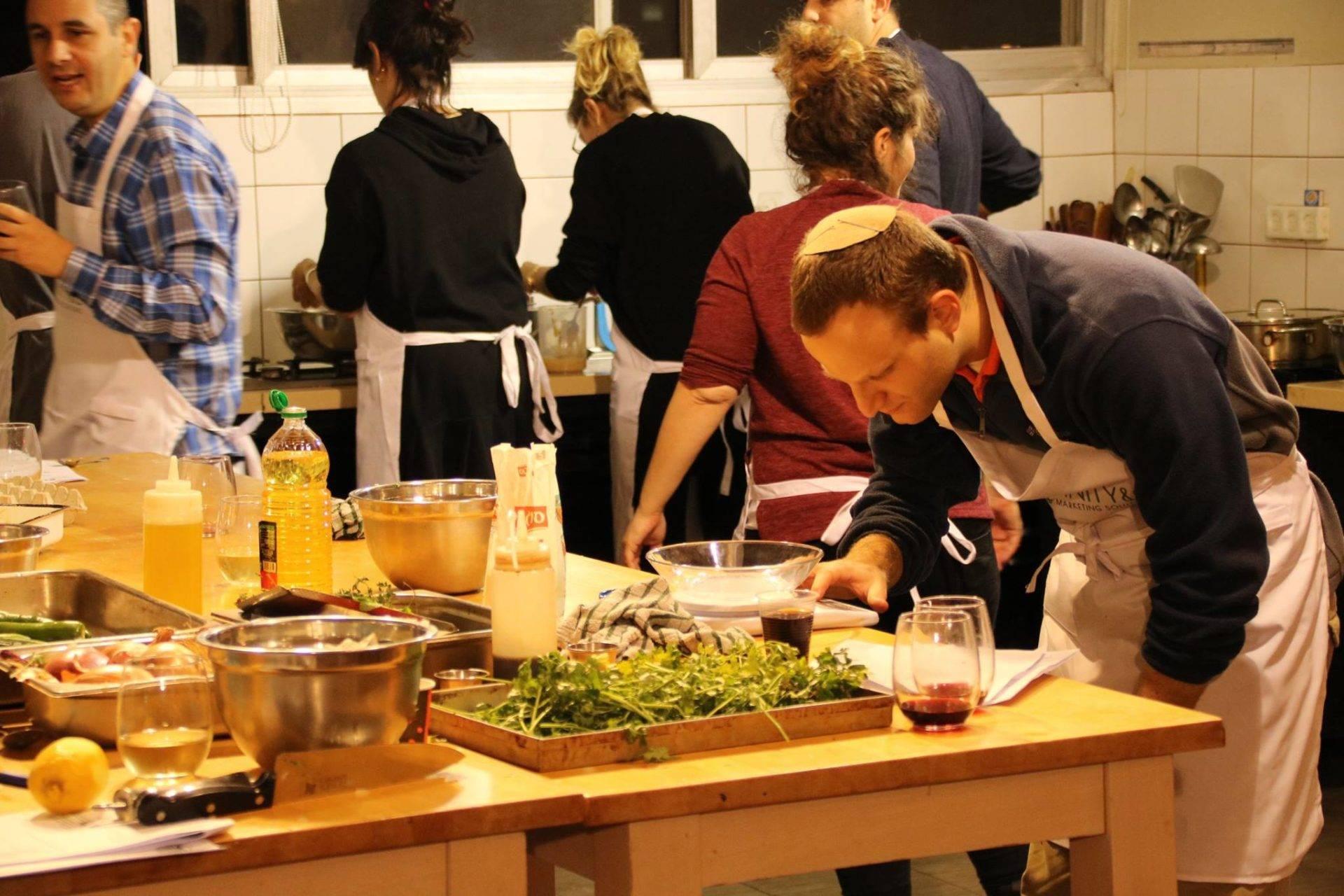 סדנאות בישול בתל אביב